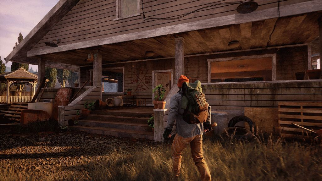 State of decay незнакомцы